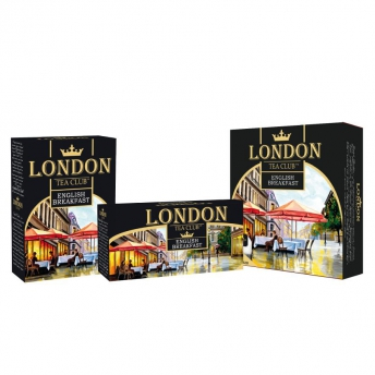 "Чай ""London Tea Club"" English Breakfast 100п/14"