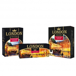 "Чай ""London Tea Club"" Standard Ceylon черный 85г/40"