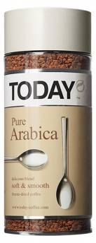 Кофе Today Pure Arabica 95г/12 ст/б